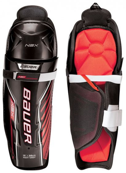 BAUER S18 NSX SHIN GUARD - JR