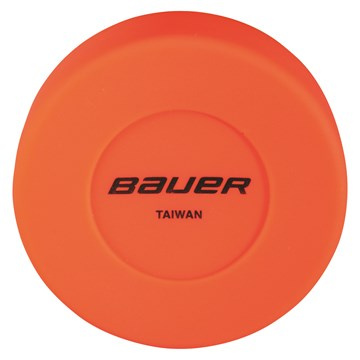 Puk BAUER Floor Hockey - Orange - 1 ks
